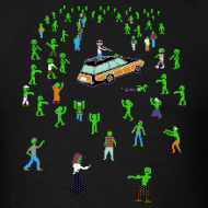 Design ~ Organ Trail Zombie Horde Shirt