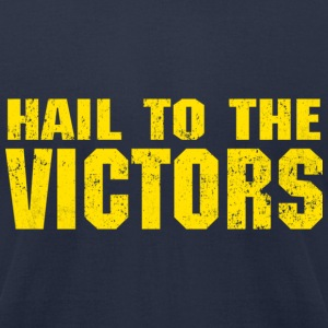 Hail to the Victors - Men's T-Shirt by American Apparel