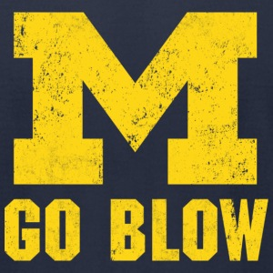 M Go Blow - Men's T-Shirt by American Apparel
