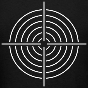 Scope sight aim - Men's T-Shirt