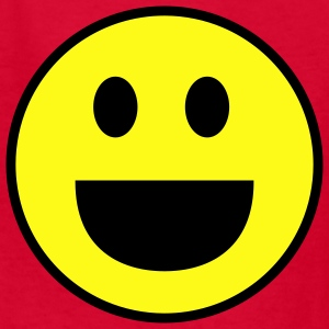Smiley face funny - Kids' T-Shirt