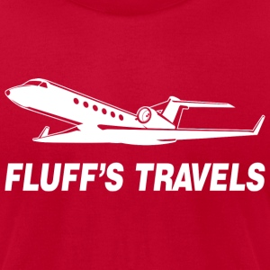Fluff's Travels T-Shirts - Men's T-Shirt by American Apparel