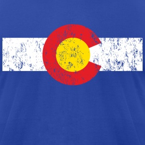 Vintage Colorado Shirt - Men's T-Shirt by American Apparel
