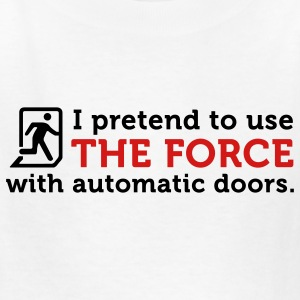 The Force Automatic Doors (2c) Kids' Shirts - Kids' T-Shirt