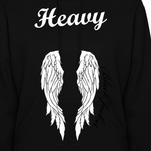 Heavy Angel Wings - Women's Hoodie