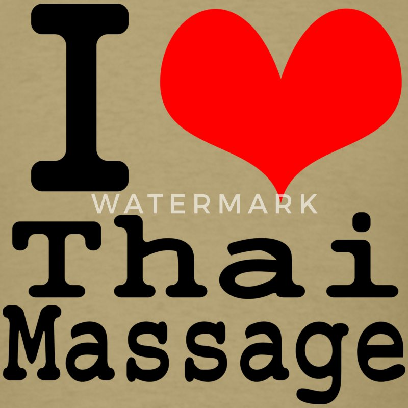 I love Thai massage T-Shirts - Men's T-Shirt