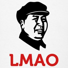 Laughing Mao (2c) T-Shirts
