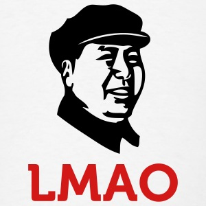 Laughing Mao (2c) T-Shirts - Men's T-Shirt