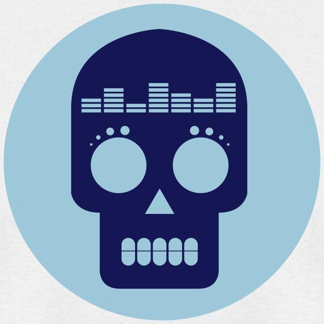 Dataloaf Skull Logo Vector