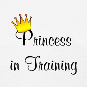 Funny One-Liners (Princess In Training) - Women's T-Shirt