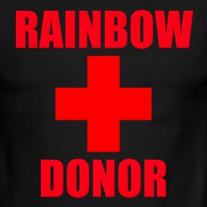 Rainbow Donor T-Shirts - Men's Ringer T-Shirt