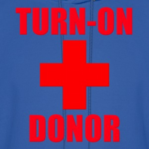 Turn-On Donor Hoodies - Men's Hoodie