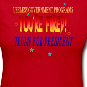 Trump For President - Women's Long Sleeve Jersey T-Shirt