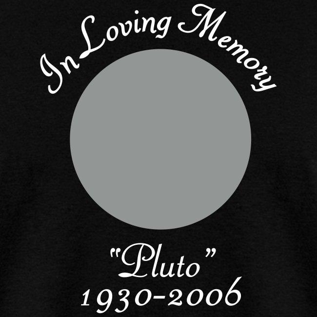 In Memory of Pluto