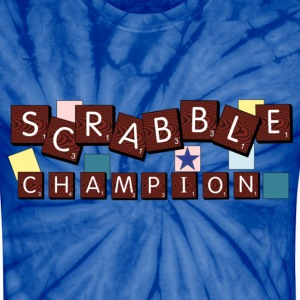 Scrabble Champion - Unisex Tie Dye T-Shirt