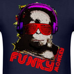 Funky Monkey - Men's T-Shirt