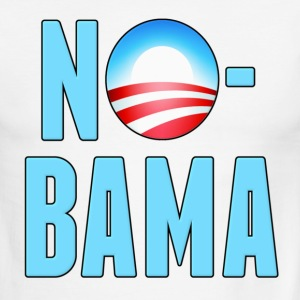 No-Bama Anti Obama T-Shirts - Men's Ringer T-Shirt