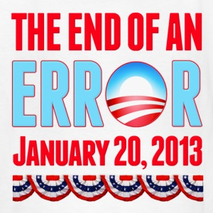 The End of An Error January 20, 2013 Anti Obama Kids' Shirts - Kids' T-Shirt