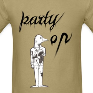 party on bird - Men's T-Shirt