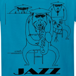 Jazz players Kids' Shirts - Kids' T-Shirt