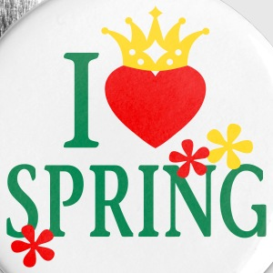 I LOVE SPRING | Buttons - Large Buttons