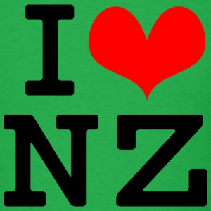 I Love NZ T-Shirts - Men's T-Shirt