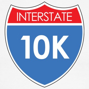 Interstate 10K T-Shirts - Men's Ringer T-Shirt