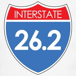 Interstate 26.2 T-Shirts - Men's Ringer T-Shirt