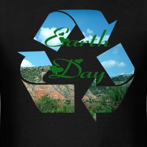 earth_day_recycle T-Shirts - Men's T-Shirt
