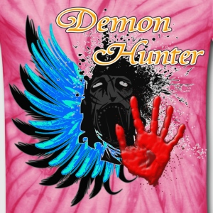 Demon Hunter FaceWings T-Shirts - Unisex Tie Dye T-Shirt