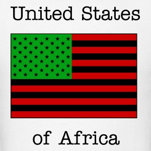 United States of Africa - Men's T-Shirt