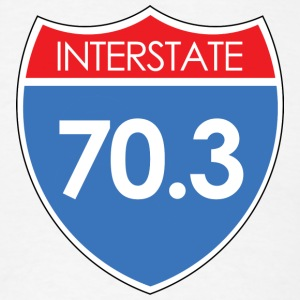 Interstate 70.3 T-Shirts - Men's T-Shirt