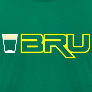 Shot Bru T-Shirts - Men's T-Shirt by American Apparel