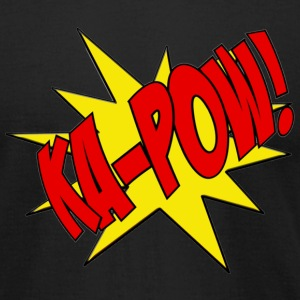 Ka-Pow comic book sfx shirt - Men's T-Shirt by American Apparel