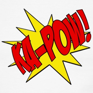 Ka-Pow comic book sfx  T-Shirts - Men's Ringer T-Shirt