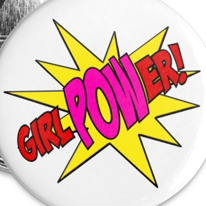 Girl Power! Buttons - Small Buttons