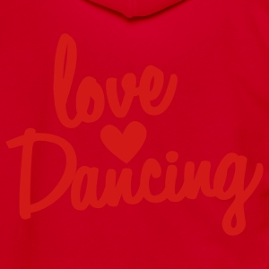 love dancing Zip Hoodies/Jackets - Unisex Fleece Zip Hoodie by American Apparel