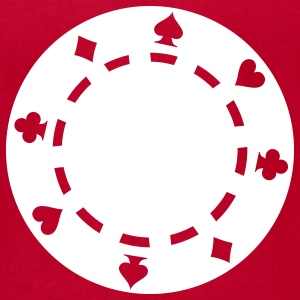 Poker chips T-Shirts - Men's T-Shirt by American Apparel