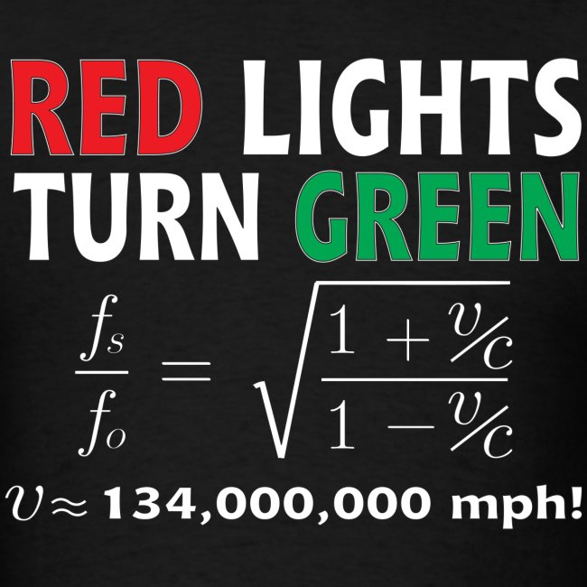 Red Lights Turn Green (doppler shift effect)