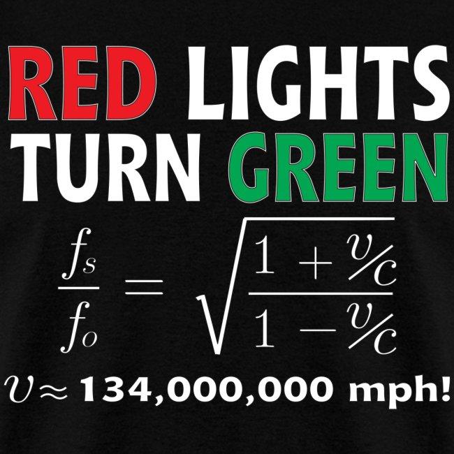 Red Lights Turn Green (doppler shift effect)