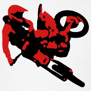 Motocross Whip T - Men's T-Shirt