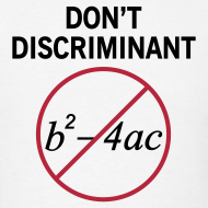 Design ~ Don't Discriminant