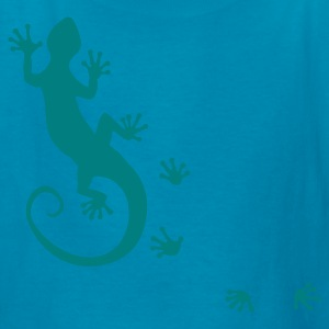 RUNNING GECKO | children's shirt - Kids' T-Shirt