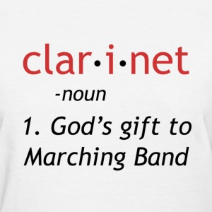 Definition of Clarinet - Women's T-Shirt