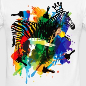 Paint_It_Yourself - Men's Ringer T-Shirt