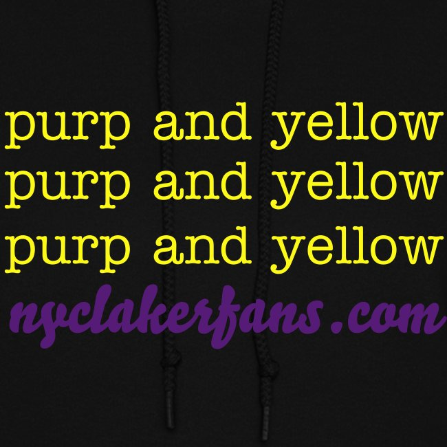 womens purp and yellow (black) sweater