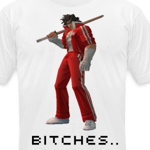 Hyato, Bitches - Men's T-Shirt by American Apparel