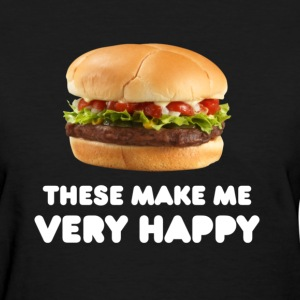 Women's Burger Tee - Women's T-Shirt