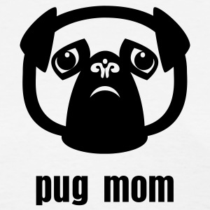 pug mom - Women's T-Shirt