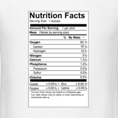 human_nutritional_facts T-Shirts
